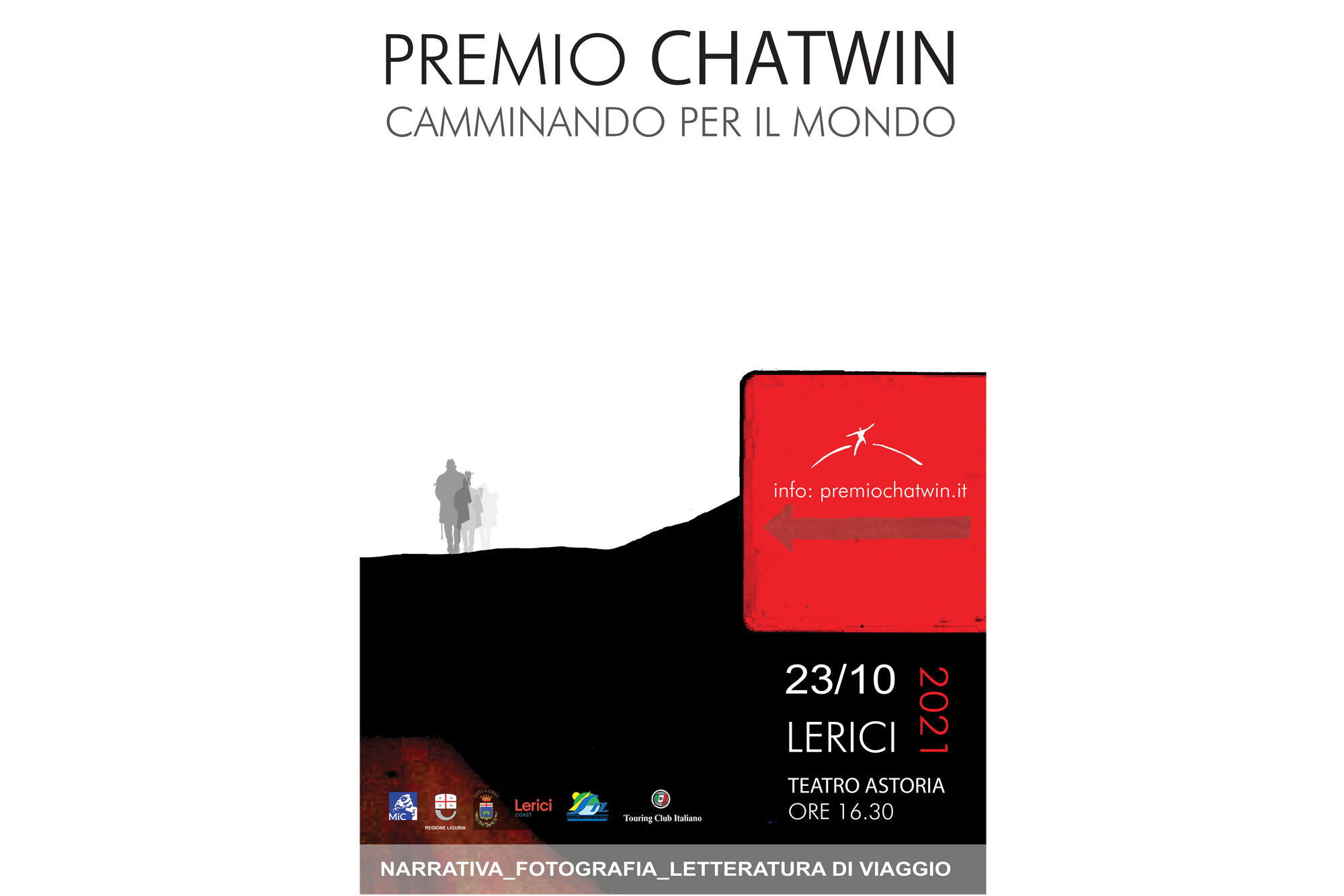 L'Associazione Culturale Chatwin ringrazia i numerosi concorrenti che hanno partecipato a questa nuova edizione del Premio Chatwin.