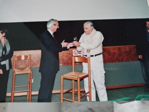 Paolo Brunatto premiato