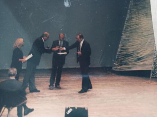Giorgio Brunelli premiato