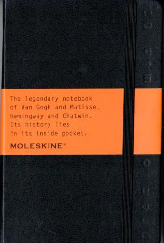 Moleskine 2002