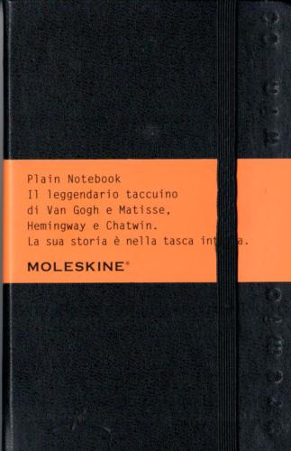 Moleskine 2003