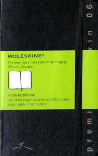 Moleskine 2006