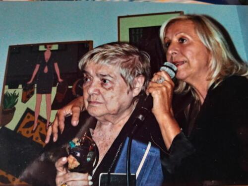 Fernanda Pivano e Luciana Damiano